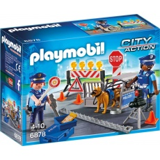 Playmobil City Action 6924 Blokada policyjna