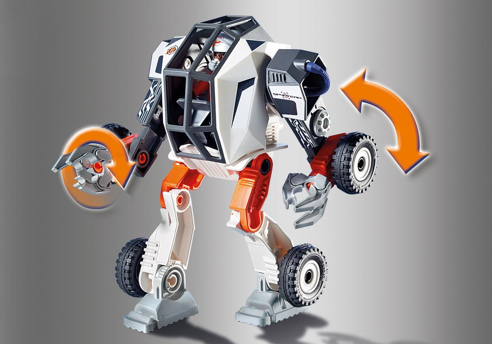 playmobil® top agents 9251 robot agenta tec  sklep kleks