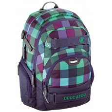 Plecak Coocazoo CarryLarry II Green Purple District Hama 129962