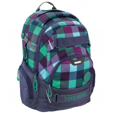 Plecak Coocazoo CarryLarry II Green Purple District Hama 138740 SOLID MatchPatch