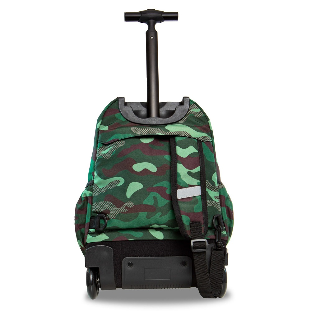 05941b459c417 Plecak na kółkach CoolPack Junior Badges Camo Green Patio 23742CP A28110