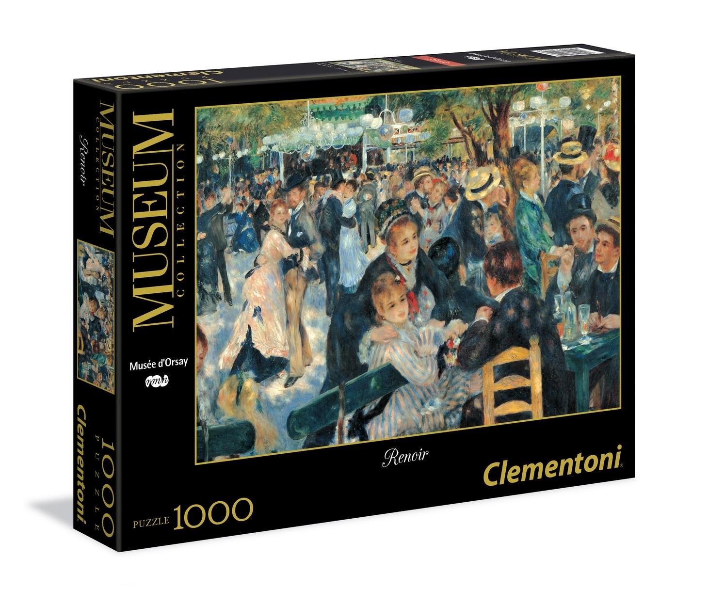 fda359fc Puzzle 1000 elementów Renoir Bal du Moulin de la Galette Clementoni 31412