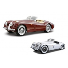 Jaguar XK 120 Roadster Bijoux 1:24 mix, Bburago 18-22018