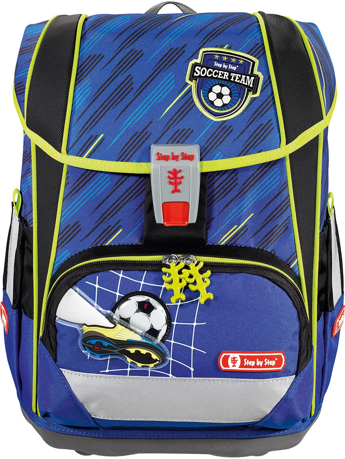 Tornister Step By Step Light II Set 4 cz. Soccer Team Hama 139137