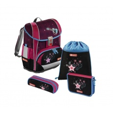 Tornister Step By Step Light II Set 4 cz. Popstar Hama 138507 PRS