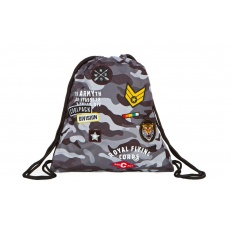 Worek na gimnastykę buty CoolPack Sprint Badges Camo Black Patio 23971CP A73111