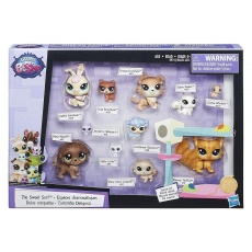 Zestaw 11 figurek Littlest Pet Shop Hasbro B6625 B9754 LPS